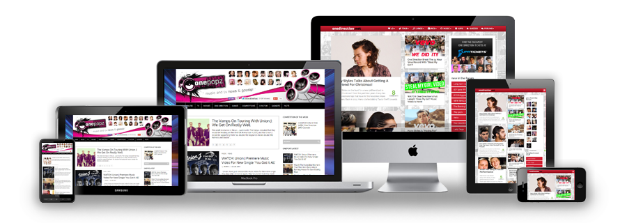 Responsive website design Manchester