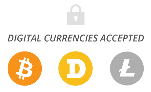 Digital Currencies Accepted