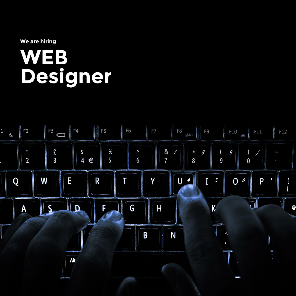 We are hiring | Web designer required in Manchester