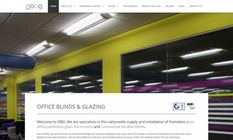 Office Blinds & Glazing