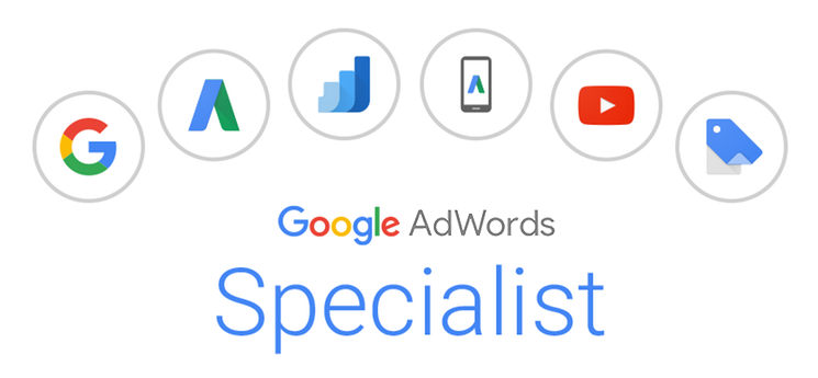 We are a Google Adwords Specialist certified agency