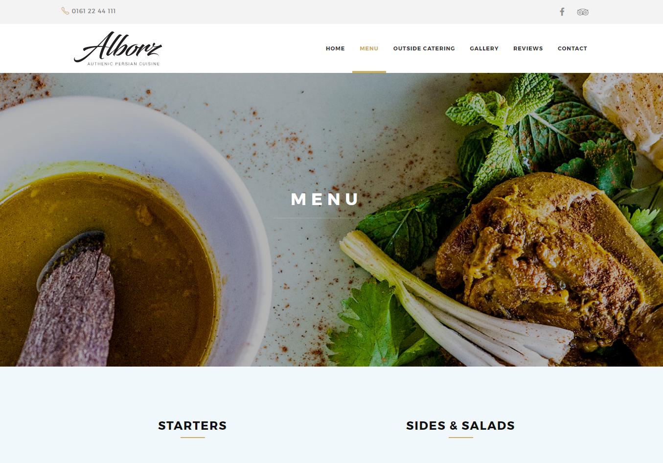 Alborz restaurant manchester for Alborz persian cuisine