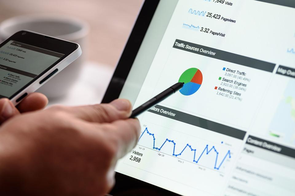 SEO Analytics Graph