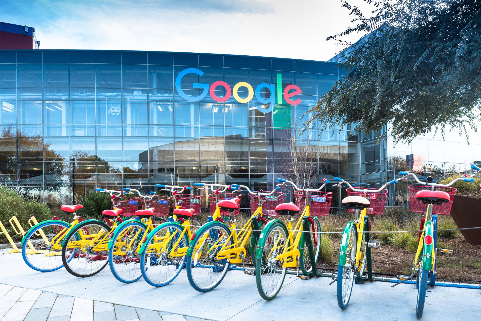 Google's HQ: SEO trends 2018