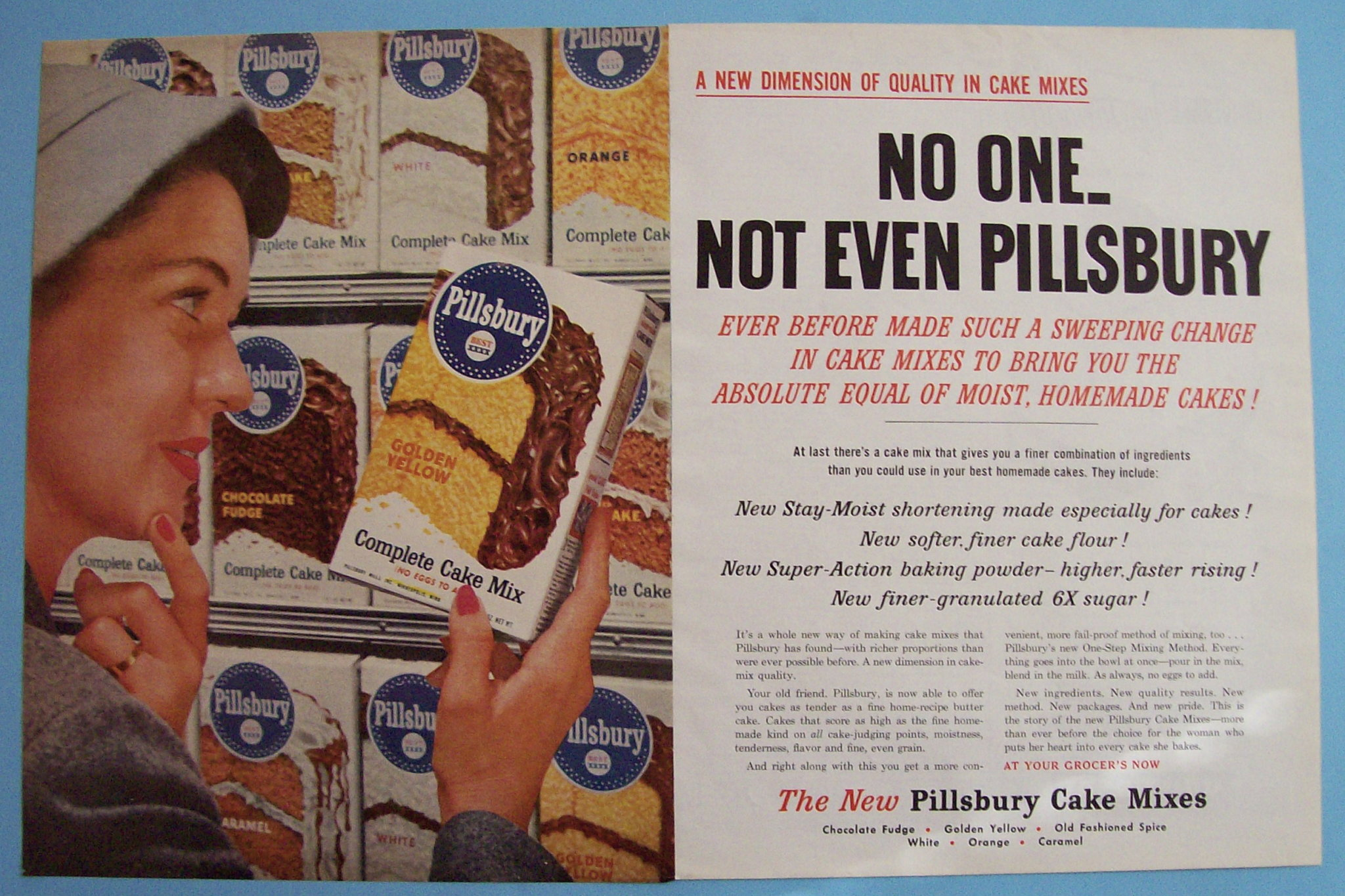 Marketing - Pillsbury Cake Mixes Advert
