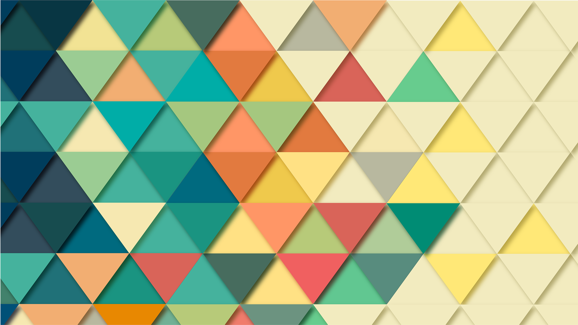 Web design colours branding and illustrations