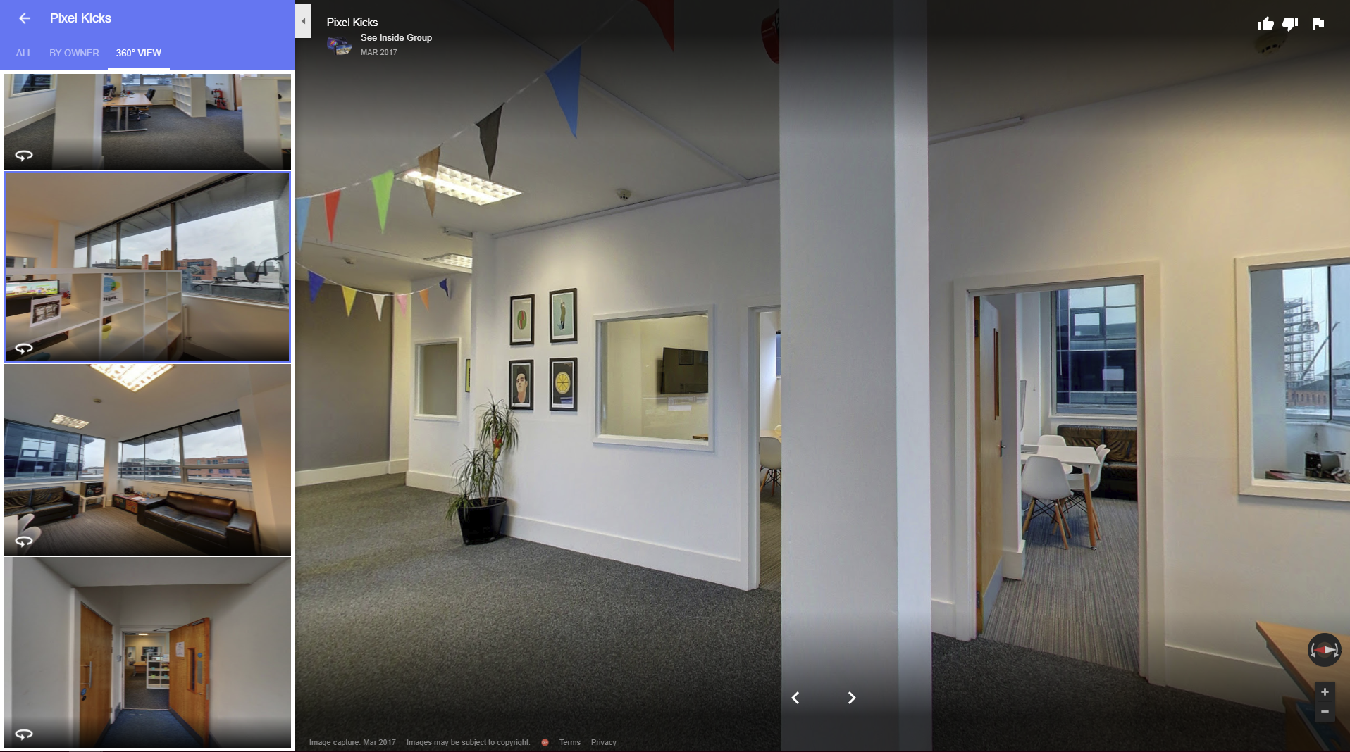 Google My Business Virtual Tour and Photos