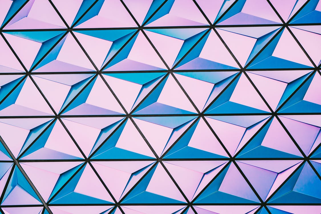 Abstract triangle photo from Pexels