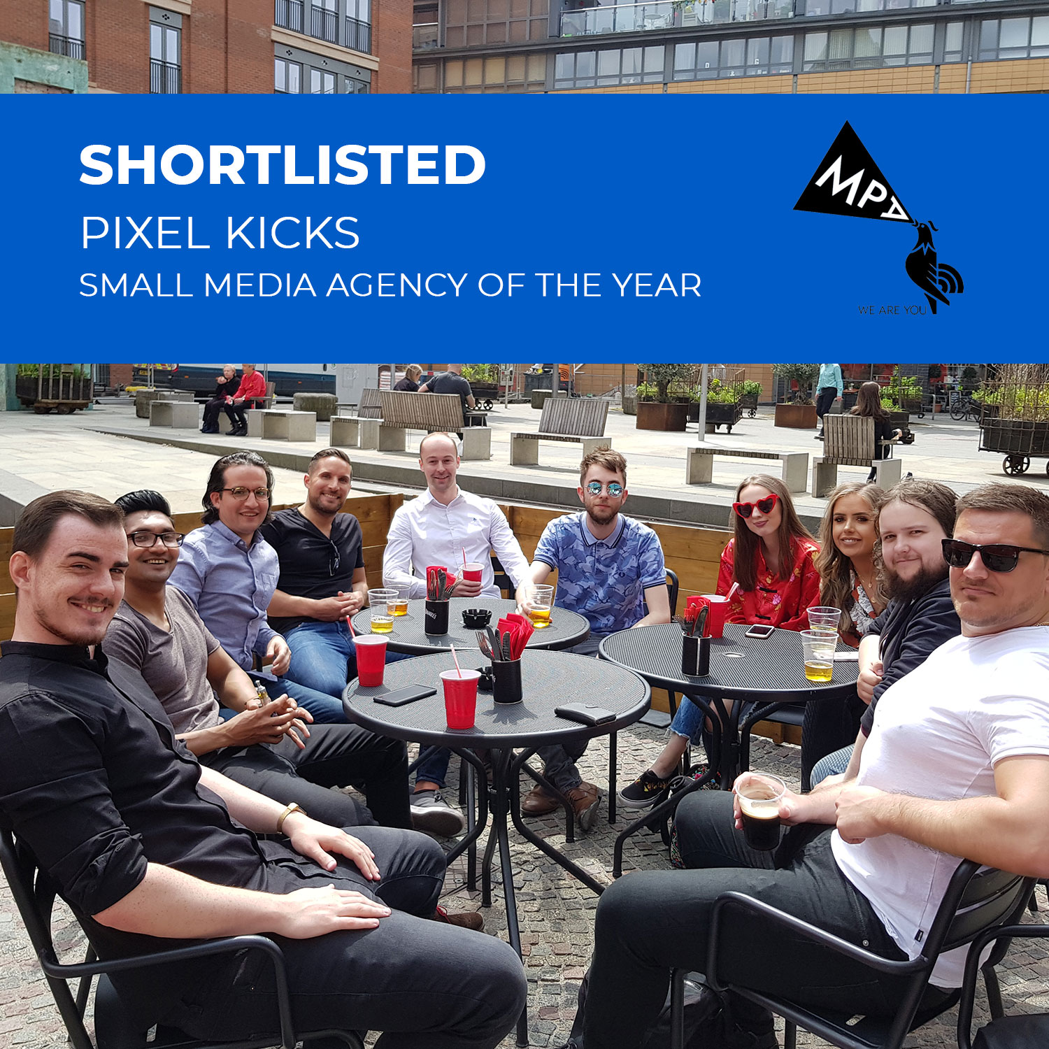 Pixel Kicks shortlisted for small media agency of the year | MPA Awards