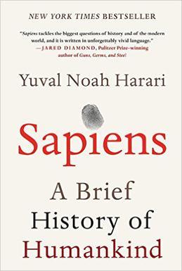 Sapiens book by Yuval Noah Harari