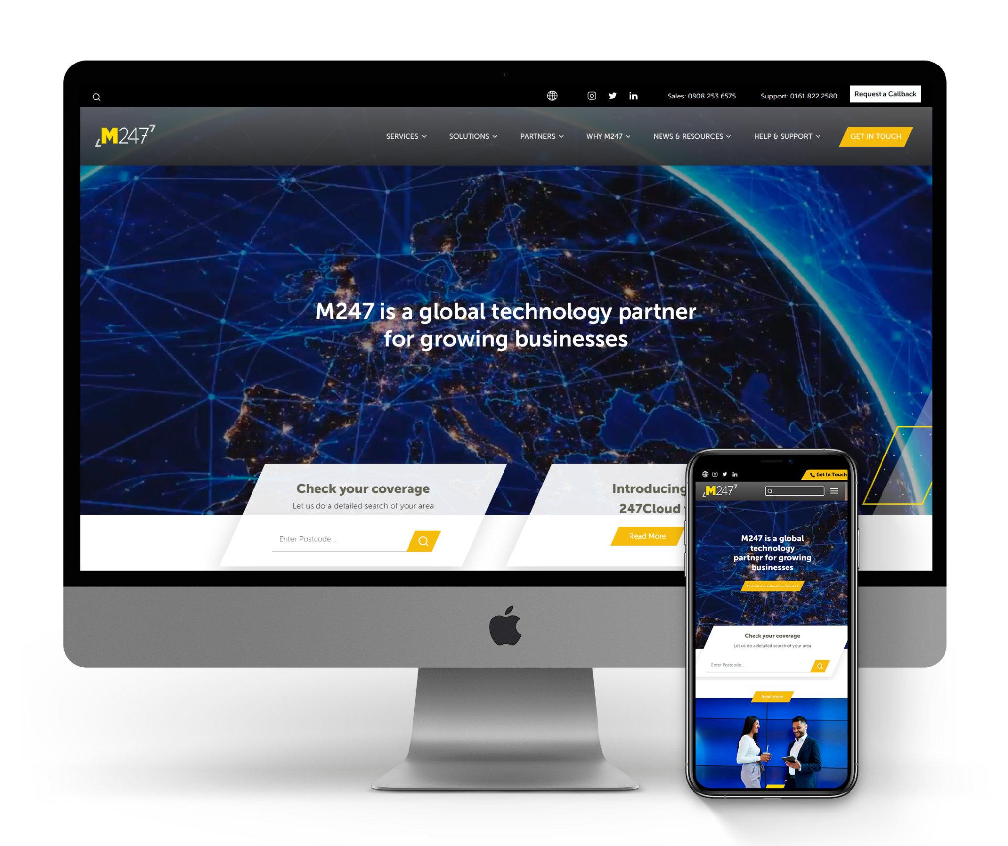 M247 | Internet Service Provider | Manchester