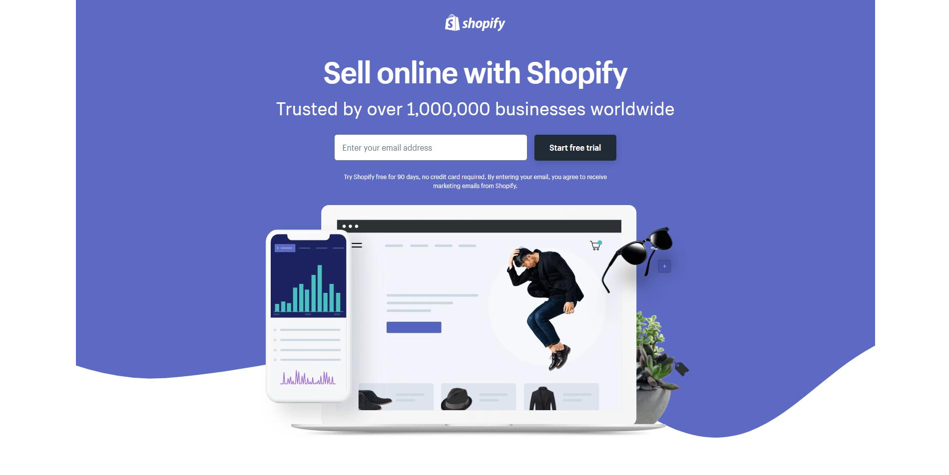 Shopify PPC Landing Page
