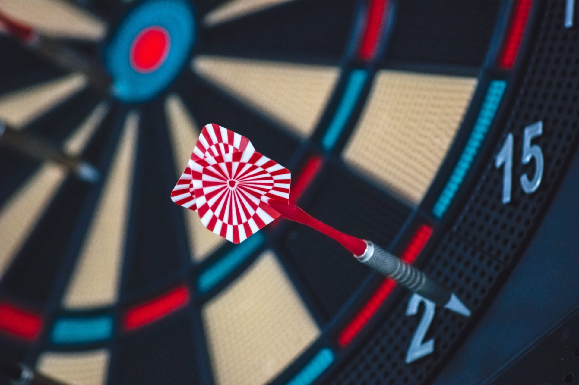 Darts board | hitting those marketing targets