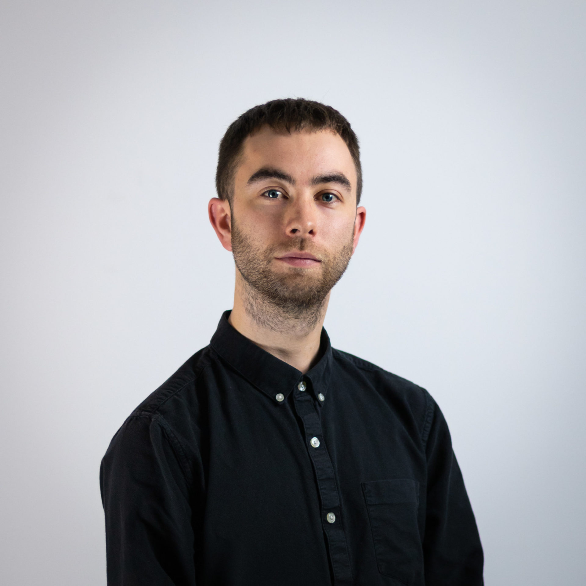 Our Digital Marketing Manager Andy's portrait