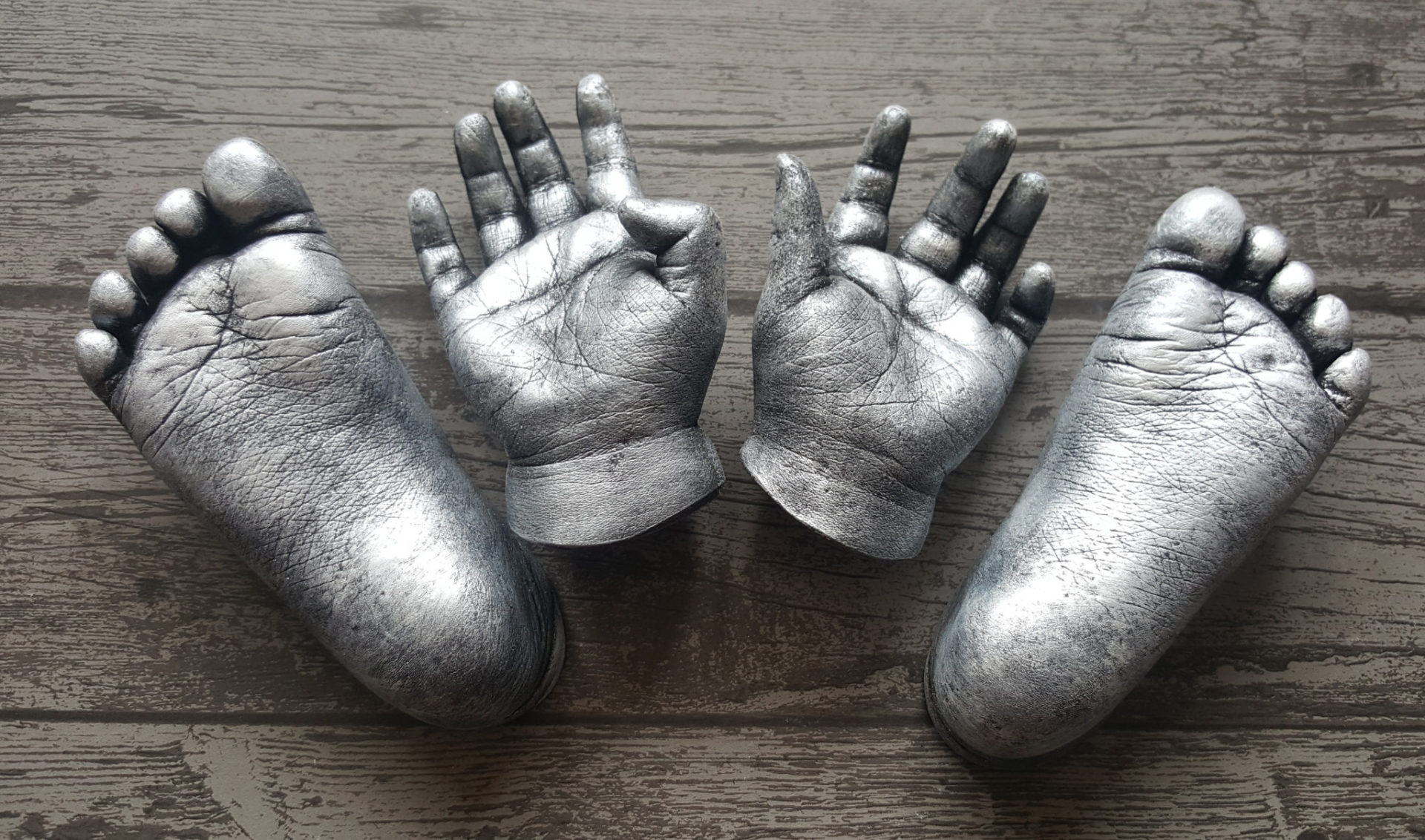 Hand casting from Baby Casts & Prints