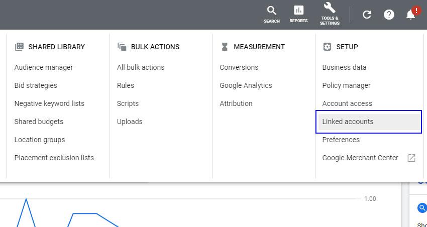 Connecting Google Ads to Google Analytics