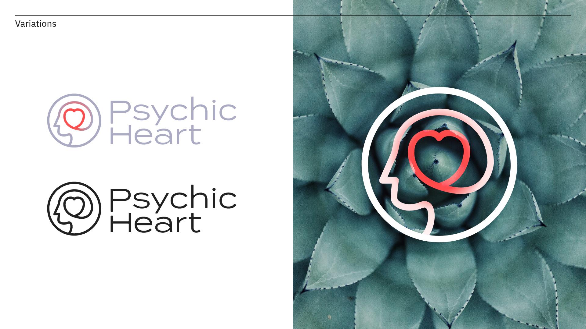 Psychic Heart | Branding Manchester 1 & Design Manchester 3