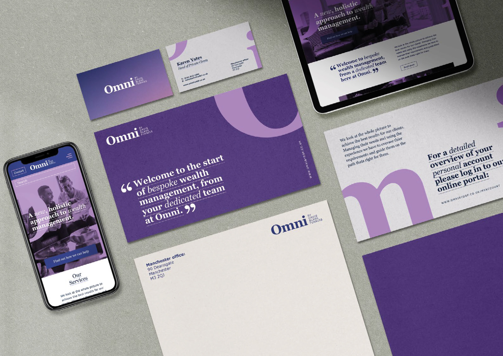 Branding for a Manchester law firm | 2