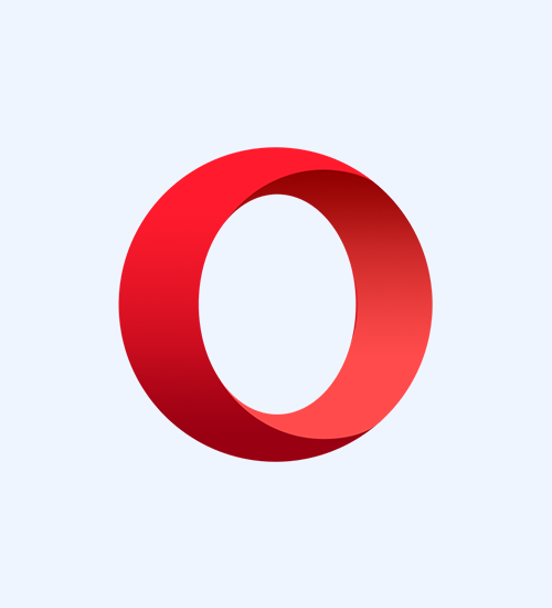 Refresh your Opera browser to clear the cache