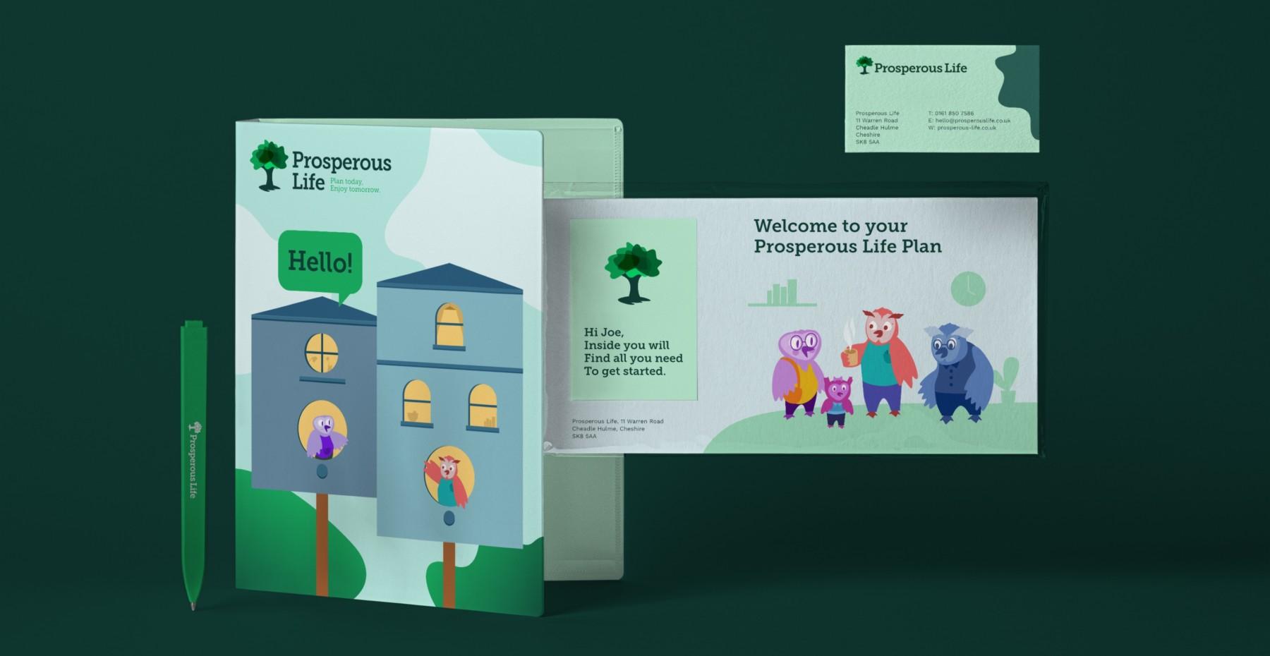 prosperouslife branding booklet info pack