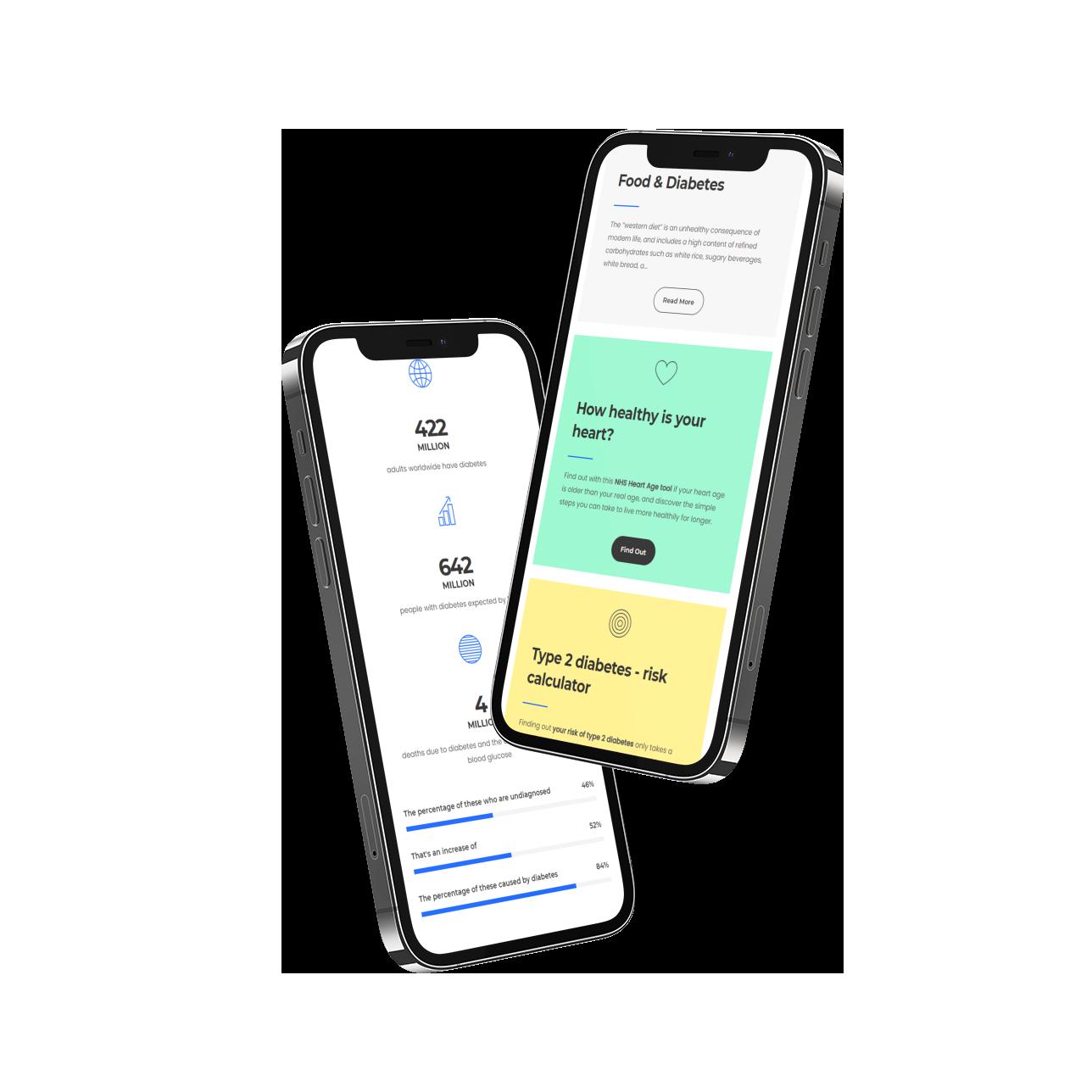 Gendius - Intellin Diabetes Management app | Mobile