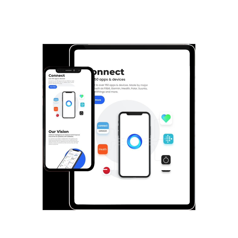 Gendius - Intellin Diabetes Management app | Tablet