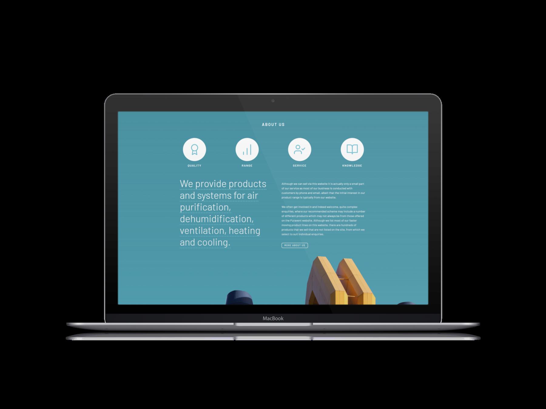 Puravent Magento 2.4 Website