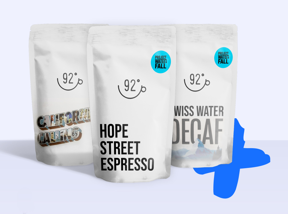92 Degrees Coffee | Shopify Website design