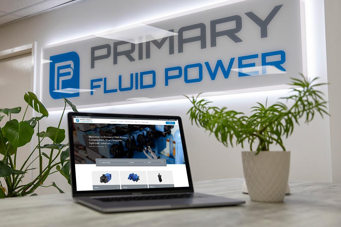Primary Fluid Power | Website Design