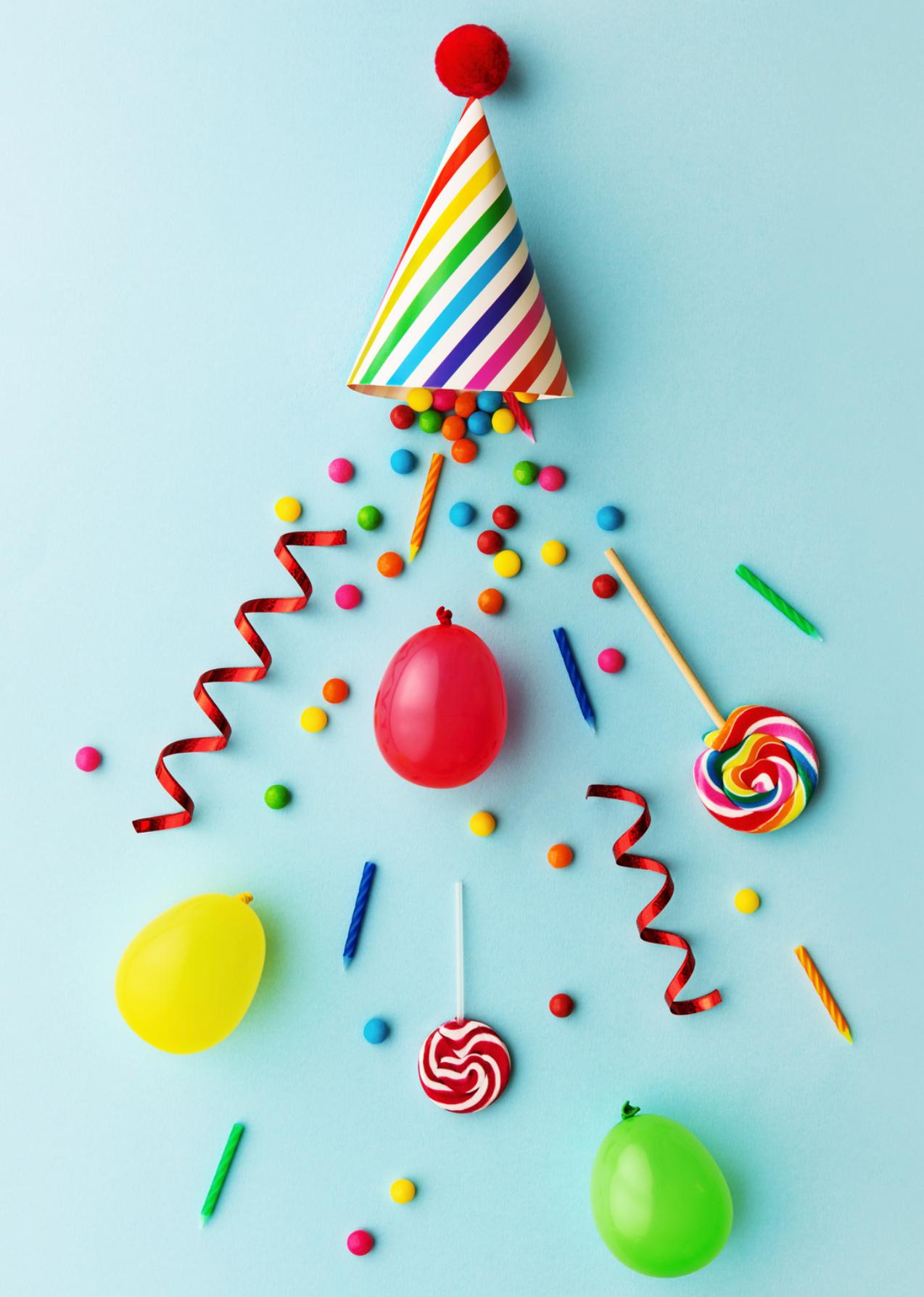 quiz funnel blog post celebration party hat image